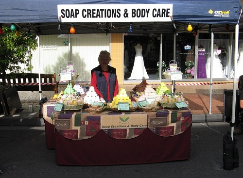 soap Creations market